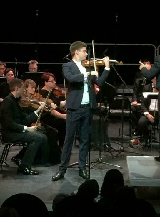 11 Under konserten i Moskva Filharmonien