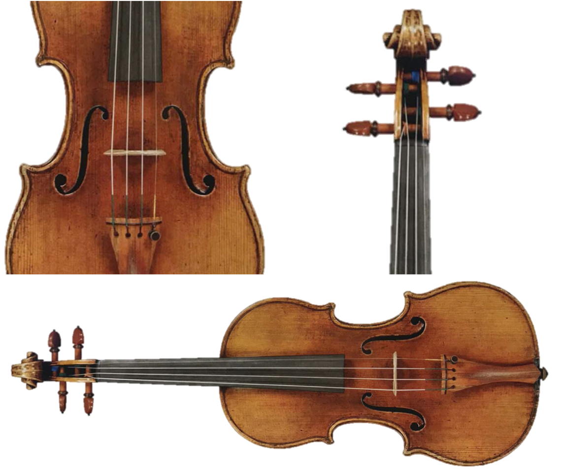"A. Stradivarius, Cremona 1725, fiolin ""Duke of Cambridge, Bott, Spohr"""