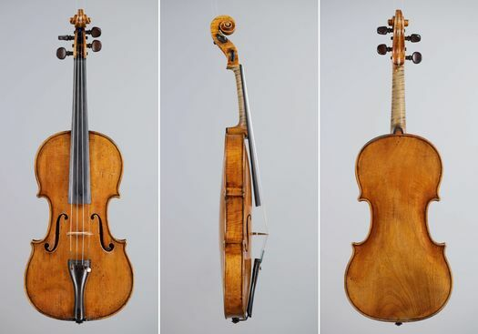 "A. Stradivarius 1736 fiolin ""Spencer Dyke"""