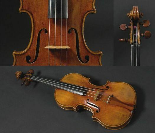 """A. Stradivarius, Cremona 1725, fiolin """"Leonardo Da Vinci"""""""