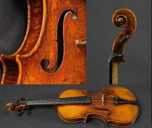 D. Montagnana, fiolin, 1730-40