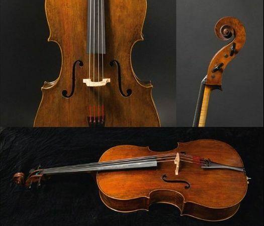 F. Ruggieri, cello, Cremona 1687