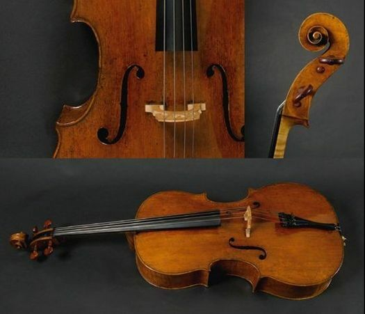 F. Ruggieri, cello, Cremona 1688