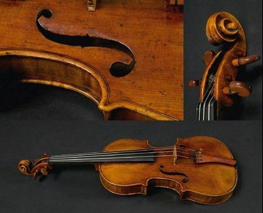"""G.B. Guadagnini, fiolin, Milano 1753 """"The Skolnik"""""""